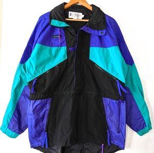 COLUMBIA Vintage 80s 90s Ski Anorak Nylon Jacket